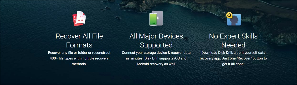 Disk Drill for mac data recovery