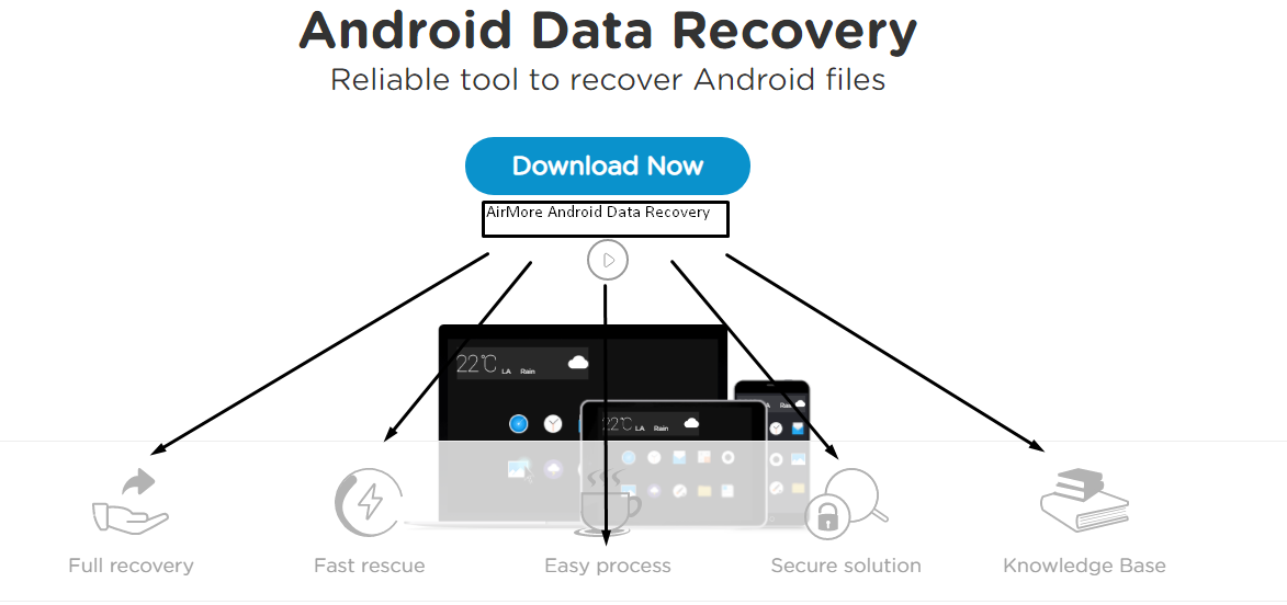 Airmore android data recovery
