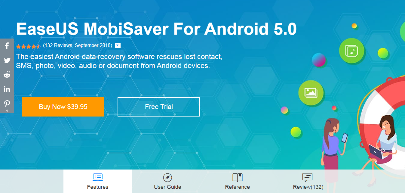 EaseUs data recovery for android