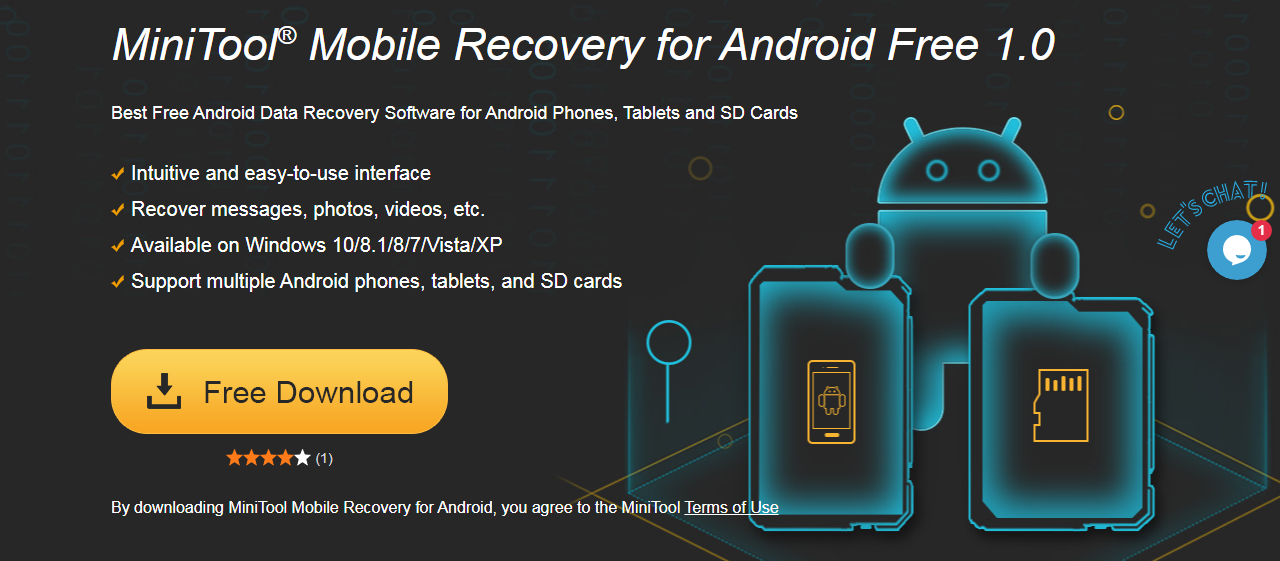 MiniTool data recovery for android