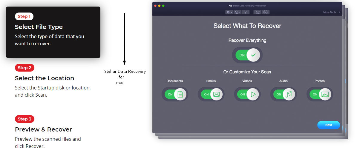 stellar data recovery software for mac os