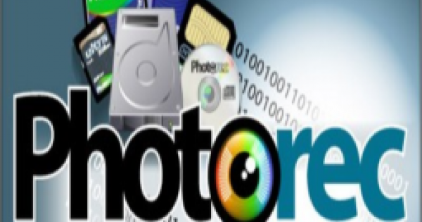 photoRec data recovery for mac